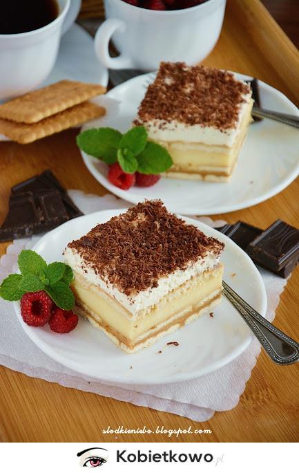 Ciasto 3 Bit Z Herbatnikami Bez Pieczenia Przepis Strona 2