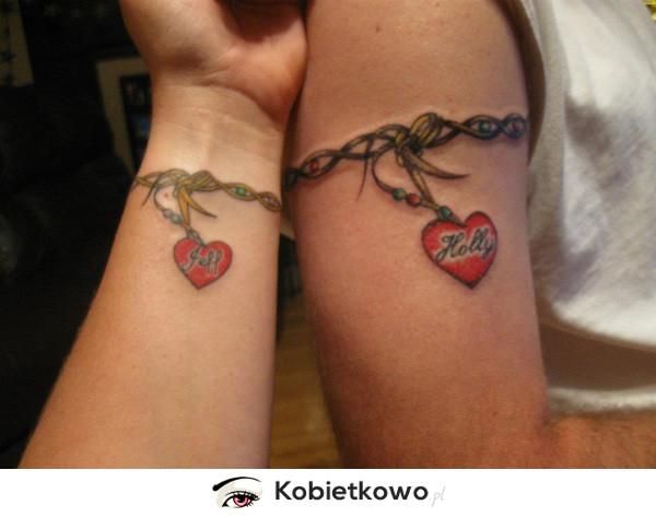 10 Najpiękniejszych Tatuaży Dla Par Strona 7 Kobietkowopl