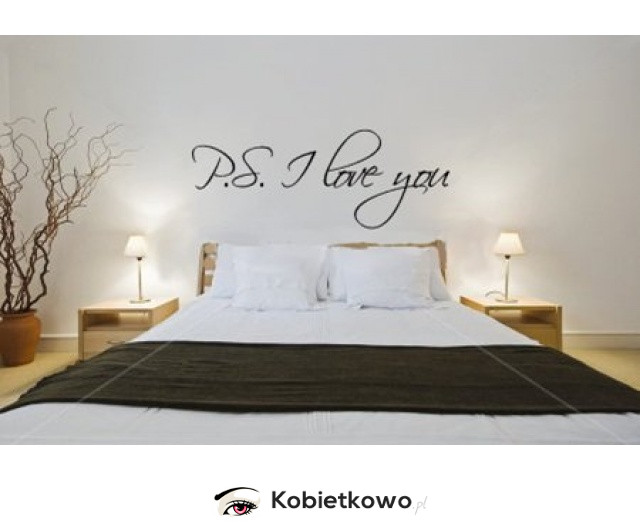 Romantyczny Nastrój W Sypialni Naklejka Na ścianę Strona
