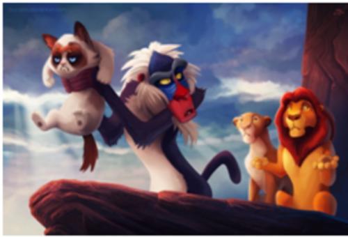 Zrzędliwy Kot Stał Się Gwiazdą Disneya I Podbija Internet Strona