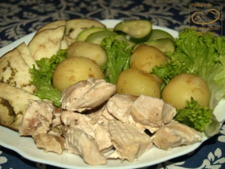 Warzywa Gotowane Na Parze Z Kurczakiem Dietetyczny Obiad Przepis